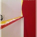 6. Schritt saubere Kanten streichen